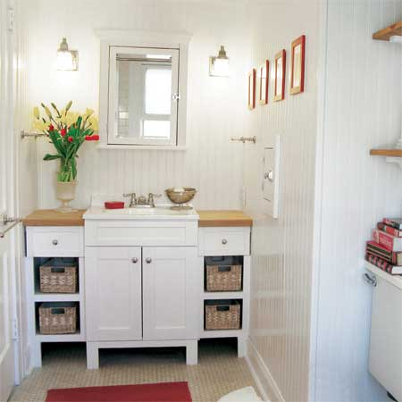 Best before and after bathroom remodels from this old house for Remodeling old homes