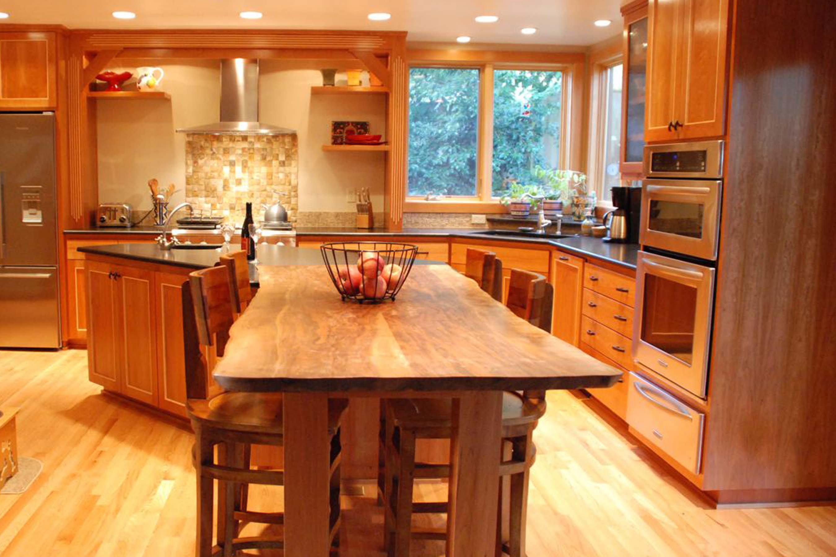 Open Kitchen Great Room Floor Plans furthermore 10 Advantages Of The Humble Ranch House as well Ranch House Transformation together with Rustic Wood Interiors Charming Distressed Wood Decor together with Marble Living Room Designs. on vaulted ceiling ranch house renovation